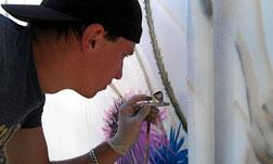 Airbrush, Graffiti Künstler, Berlin, Strausberg, Sprühdosenkunst, Auftagsmalerei