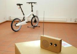 GoCycle e-Bike von e-motion auf der Eco Design Ausstellung