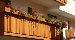 Ferienwohnung Furchetta, eigener Balkon