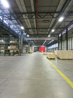 LED technology, as seen here in Fraport's Frankfurt warehouse, saves considerable cost and enhances the working climate, states the operator  /  source: FCS