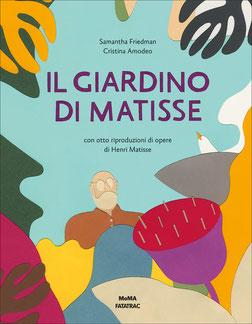 Il giardino di Matisse, copertina (edizione italiana)