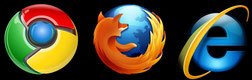 All you need is a browser......