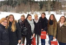 Tourismusstudenten auf Exkursion im Hochschwarzwald