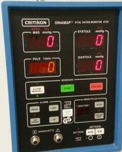 DINAMAP VITAL DATEN MONITOR 8100 für Medizin und Praxis