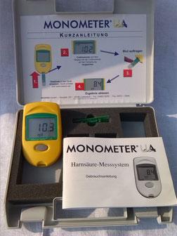 MONOMETER UA Harnsäuretest für die Chemie/ Labor