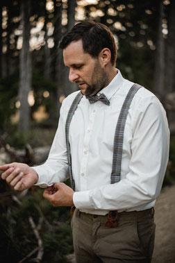 Hochzeit DJ Nico im Profil von der Seite fotografiert