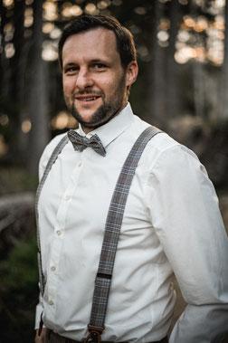 Hochzeit DJ Nico im Profil fotografiert