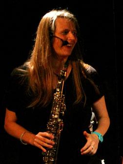 Kristina Mohr Sopran Saxophon