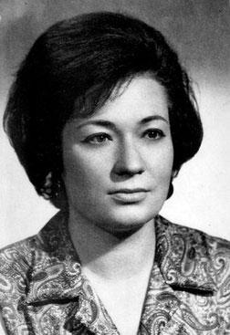Angelina Gatell en 1964