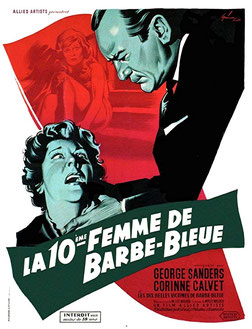 La Dixième Femme de Barbe Bleue de W. Lee Wilder - 1960 / Thriller