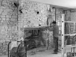 marigny le châtel cheminée