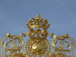 Grille-Château de Versailles (Source Michel Hourdebaigt).