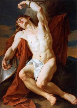 Die heldenhafte Aufopferung des St. Sebastian