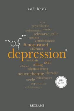 Depression Reclam 100 Seiten von Zoë Beck