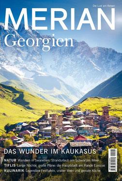 MERIAN Magazin Georgien - Die Lust am Reisen