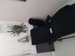 Fauteuil de massage sonore vibroacoustique avec 4 programmes : relaxation, sommeil,énergie,anti stress