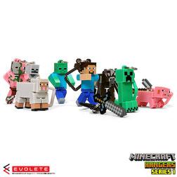 Minecraft Hanger Figures Series 1
