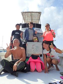 石垣島でのんびりダイビング「東海岸エリアに!」