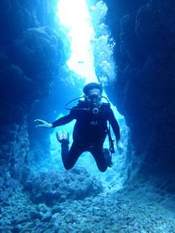石垣島でのんびりダイビング「石垣島の東海岸エリアに」