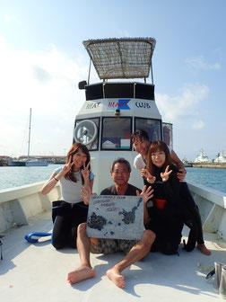 石垣島でのんびりダイビング「夏日続く」