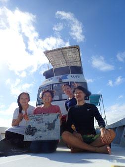 石垣島でのんびりダイビング「台風にも負けず」