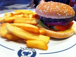 Burger de l'Irish Café, Issy les Moulineaux