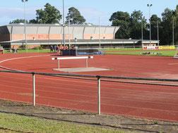 Blick auf den Soltauer Sportplatz
