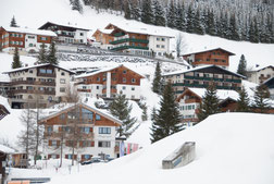 Häuser in Lech
