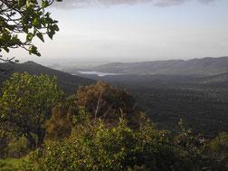 Valles y Sierras de Salvatierra de los Barros hacia el Norte, paisaje y naturaleza.