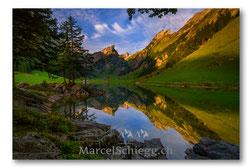 Seealpsee, Alpstein, Appenzell, Marcel Schiegg, Berggasthaus Seealpsee, Berggasthaus Forelle, Marcel Schiegg, Bergsee