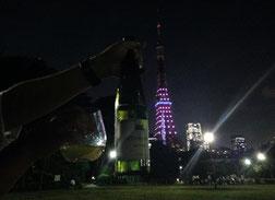 東京タワーと共に(⌒▽⌒)