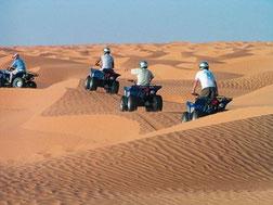 Excursión en quad en el Sáhara
