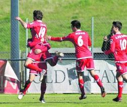 Iñigo celebra su gol. Foto: El Comercio.