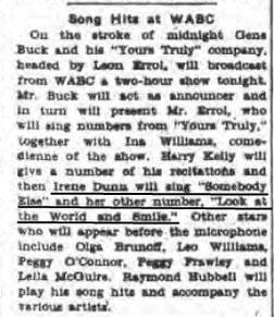 The New York Evening Post, April 15,1927