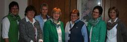 v.l.n.r: Heike Jürgens, Ilsedore Heidmann, Marianne Gakenholz, Anja Schepelmann, Anette Icken, Anette Mayer, Sabine Dralle
