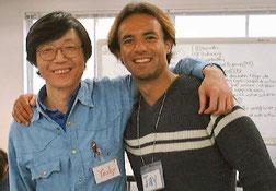 Jay and Yoshy at LL Seminar in Tokyo