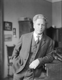 Der Komponist Karl Weigl (1881-1949). [Bildnachweis: Österreichische Nationalbibliothek.]