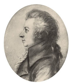 Dora Stock, Mozart 1789. Public Domain.