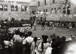 OmoGirando San Lorenzo - manifestazioni sportive degli anni venti