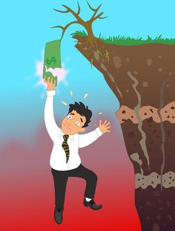 Finanzieller Absturz, Existenzrisiko, Absicherung, wichtige Versicherungen