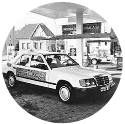 Der Beginn der Stambula GmbH mit zwei Taxen und einer Tankstelle
