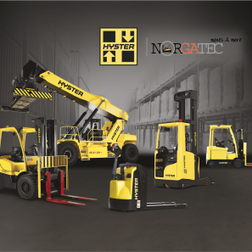 chariot elevateur Hyster reach staker occasion