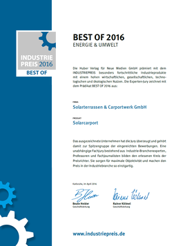 Best of 2016 - Energie & Umwelt