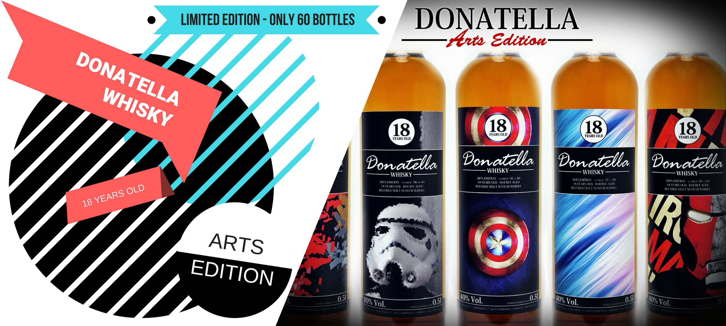Donatella Whisky Limited Collectors Arts Edition