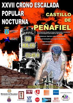 XXVII CRONOESCALADA NOCTURNA CASTILLO DE PEÑAFIEL - Peñafiel, 30-07-2016