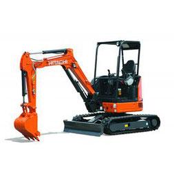 Hitachi ZX 30 Mini Excavator