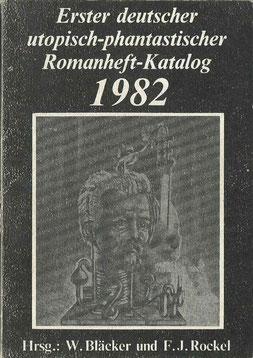 Erster deutscher utopisch-phantastischer Romanheft-Katalog 1982