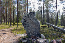 Samischer Opferstein Seitakivi