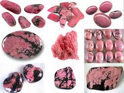 Rhodonite - Boutique minéraux - casa bien-être - Ain