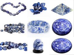 Sodalite - élocution - Boutique de minéraux - casa bien-être